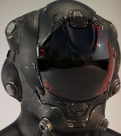 JOJO POST DIGI: HELMET, Cyberpunk, Android, Robot, Futuristic, Sci-Fi, Military, Cyborg, Cabuto, Clothing, Fashion, Future, Armor, Mask. Communication.