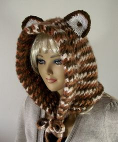 #KNITTING #PATTERN Cute #Bear #Cowl Cute Bear by #LiliaCraftParty