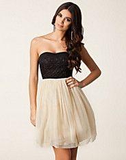 Kuhlo New Dress - Vila For Nelly - Creme - Festklänningar - Kläder - NELLY.COM