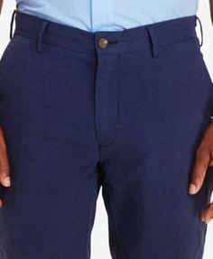 "Polo Ralph Lauren Men's 9-1/2"" Classic-Fit Pima Twill Shorts - Harbor Island Blue 42"