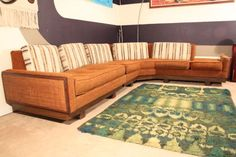 Great vintage sectional.