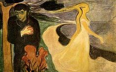 Separazione, 1900, olio su tela