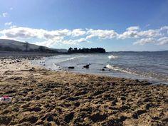 A Day On The Beach | Llanfairfechan - Coffee, Cake, Kids