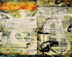 "Bill Gingles, Parallel Myths, 2014, acrylic on canvas, 24""x30"" billgingles.net"