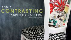 DIY Upholstery Tutorial #furnitureupholstery #homedecor #decorideas