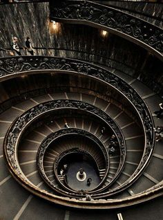 Spiral staircase, Vaticano