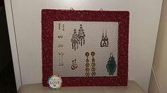Porta orecchini #diy #bijoux #love #handmade