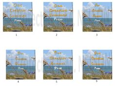 VOTE FOR BEST DESIGN… My new imprint, One Creative Summer Press is about to launch just in time to host my first novel (series), and you get to help in designing the logo! Check out the 6 font choices below, and choose your favorite.  Vote now