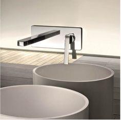 Смесители и душевые системы Fantini: Dolce #hogart_art #interiordesign #design #apartment #house #bathroom #fucet #bath #fantini