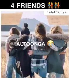 Best Friend Gifs, Love You Best Friend, Best Friend Quotes Funny, Best Friend Song Lyrics, Best Love Lyrics, Cute Song Lyrics, Happy Friendship Day Video, Friendship Songs, Good Friend Status