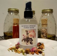 Florida Water 4oz Protection, Luck, Cleansing, Blessings: Hoodoo Santeria Voodoo Wicca Pagan Conjure