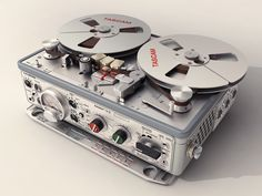 The Nagra IV-S professional tape recorder - probably the most successful and long lived portable professional tape recorder ever made.  Invented by the Polish audio designer, Stephan Kudelski, and has been manufactured at the Kudelski/Nagra factory in Cheseaux, Switzerland since the early 1960s.