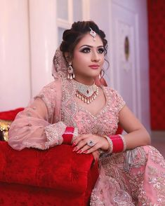 Day bride Outfit By- Jwellery By- Photography By- Indian Bride Dresses, Indian Wedding Outfits, Bridal Outfits, Wedding Attire, Bridal Dresses, Designer Bridal Lehenga, Indian Bridal Lehenga, Bridal Lehenga Collection, Dress Collection
