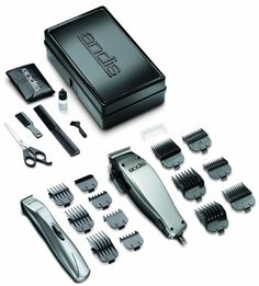 Barber Set Hair Cut Kit Shaver Clipper Trimmer Combo Haircut Andis 23-Piece Set #Andis
