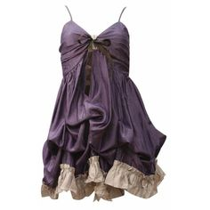 M-butterfly Strap With Hitched Hem Dress - Purple | women's clothes |... ($31) ❤ liked on Polyvore featuring dresses, vestidos, short dresses, purple, purple cocktail dress, purple dress, purple mini dress, short purple dresses and mini dress