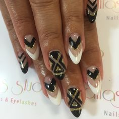 Arrow nail art by atlas_nail
