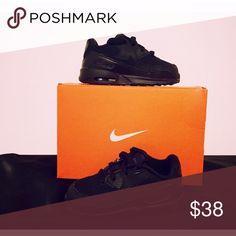 🎁💯Black AirMax Nike🎁 🎁💯Brand New Toddler Black on Black Nike AirMax✨😎 Nike Shoes Sneakers