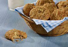 Galettes aux pommes, avoine et noix de coco | Recettes saines pour les boîtes à lunch | Tremplin Santé