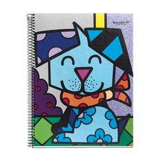 """Cuaderno con espiral A4 """"BABY BRITTO"""" www.popgalleryonline.com"""