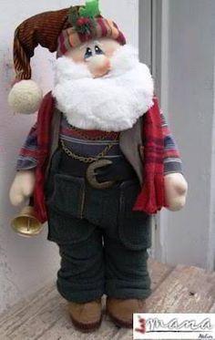 for Carolyn to make.Christmas - Sparkles 'n' Spirit Christmas Sewing, Christmas Fabric, Christmas Items, Christmas Projects, Christmas Crafts, Christmas Decorations, Christmas Ornaments, Santa Baby, Waldorf Dolls