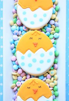 Chick Cookies Repinned By:#TheCookieCutterCompany