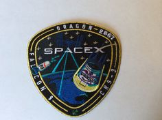 F9-9 CRS-3 mission patch   4/18/14
