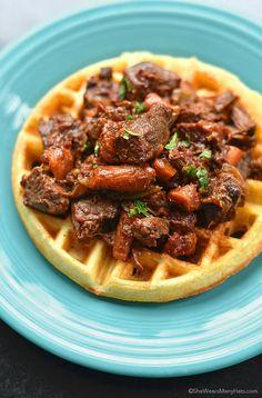 Guinness Beef Stew Recipe | http://shewearsmanyhats.com/guinness-beef-stew-recipe/