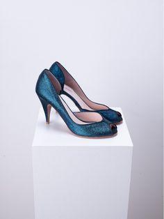 Escarpins Clodette Patricia Blanchet Pretty Shoes, Dream Dress, Me Too Shoes, Peep Toe, Dressing, Heels, Fashion, Beautiful Shoes, Pumps