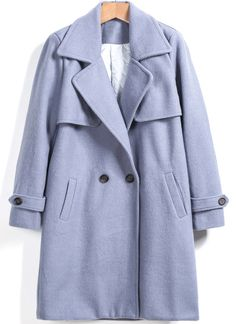 Shop Purple Lapel Pockets Loose Woolen Coat online. Sheinside offers Purple Lapel Pockets Loose Woolen Coat & more to fit your fashionable needs. Free Shipping Worldwide!