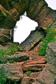 Colorado Way of life: Royal Arch: Boulder's Stair-Grasp. >> Have a look at more at the image link