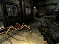 The Unnamed Marine continues his adventure as he explores Sector 2 of the Alpha Labs. That means more zombies, more imp demons, more maggots, and now a new s. Doom 3 Bfg, Hawkeye, Spider, Demons, Plays, Games, Spiders, Satan