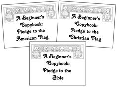pledge of allegiance | The Pledge of Allegiance to The Christian ...
