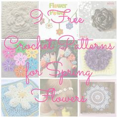 CGOA Now!: 9 Free Crochet Patterns for Spring Flowers