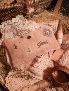 EaSteR PrIMiTiVe E-Pattern PDF A Jack Rabbit by nathaliepoppy