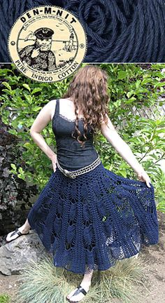 Pineapple skirt free pattern (but I had to make an account though it's free too)