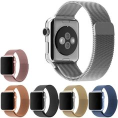Luxury Milanese Loop Watch Strap Band For Apple Watch Stainless Steel 38Mm/ 42Mm