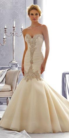 wedding dresses style mermaid 12
