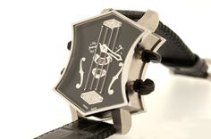 ArtyA - Son of Sound Guitar Watch Steel
