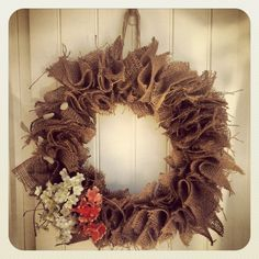 summery, country wreath
