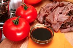 Slow Cooker Rump Roast with Au Jus - Low in saturated fat, No cholesterol, Low in sodium and No sugar - www.GetCrocked.com