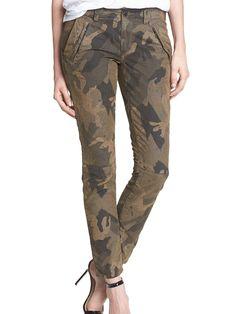 Camo Print Pants $204