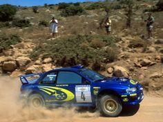 Subaru Impreza WRC rally car www.shipyourcarnow.com