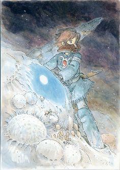 Nausicaä - Miyazaki