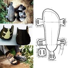 make these out of scrap to help pay for other parts we need for our park: Make your own Sandals