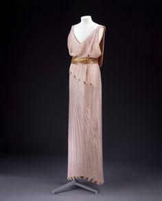 Dress Jean Patou, 1932-1934 The Victoria & Albert Museum