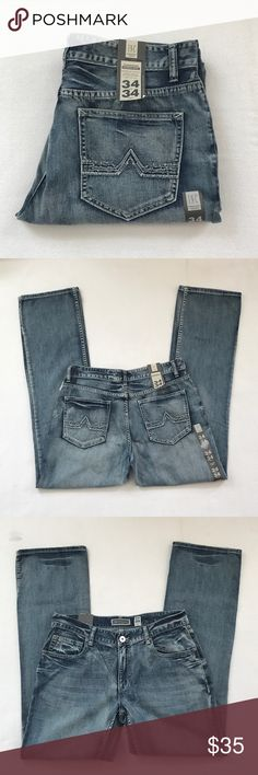 "Men's INC bootcut jeans Brand new with tag. Waist 34, length 34"". No trades. INC International Concepts Jeans Bootcut"