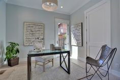 Live Oak - transitional - Home Office - San Francisco - Fiorella Design
