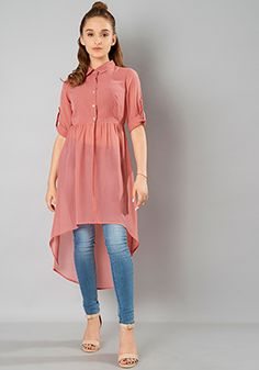 Valentine's Day Clothing 2020 - Girls Fashion Dresses Sale, Offers, Discounts On. Stylish Dresses For Girls, Stylish Dress Designs, Designs For Dresses, Stylish Kurtis Design, Muslim Fashion, Fashion Wear, Look Fashion, Fashion Dresses, Hijab Fashion