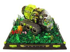. Lego Spaceship, Lego Vehicles, Lego Man, Lego Mechs, Lego Construction, Cool Lego, Lego Ideas, Lego Creations, Spaceships