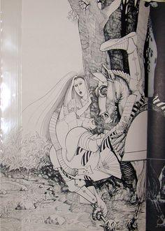 Lewis Carroll's   Through the looking glass  ralph steadman